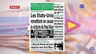 LA REVUE DES GRANDES UNES DU LUNDI 18 MARS  2019 - ÉQUINOXE TV
