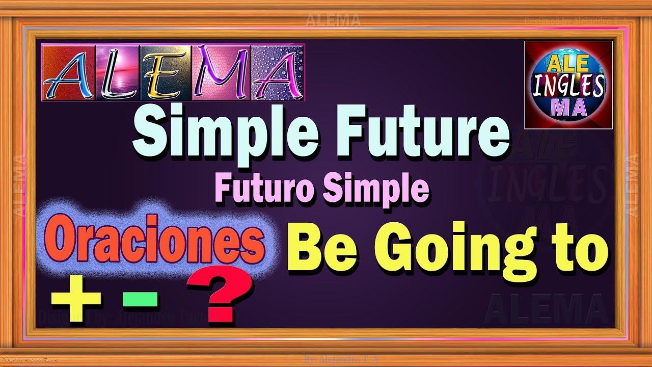 Futuro Simple En Ingles Usando Be Going To Oraciones Con Simple Future Tense Lección 32