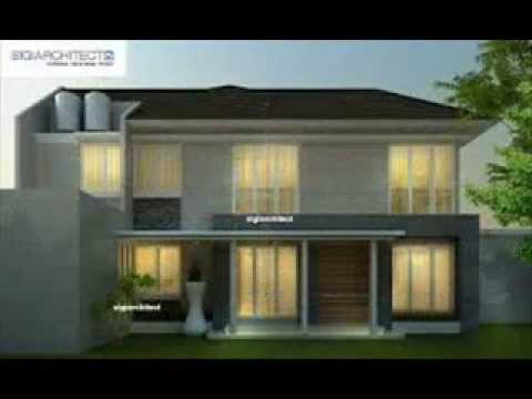 desain rumah villa minimalis & desain rumah villa minimalis - YouTube