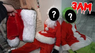 I Finally UNMASKED SANTA And GRINCH At The Same Time AND You Won't BELIEVE THIS!! *SCARY*