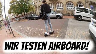 WIR TESTEN AIRBOARD! | AnKat
