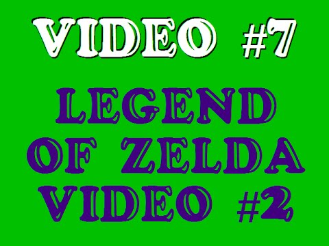 Nicks AWESOME <b>Game Genie codes</b> NES #7 <b>Legend</b> of <b>Zelda</b> pt.2 - YouTube