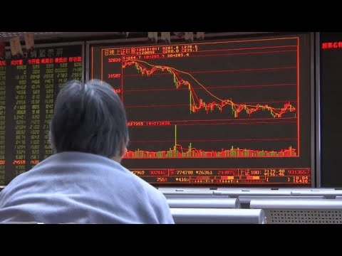 Stock markets in tailspin as global share selloff grows