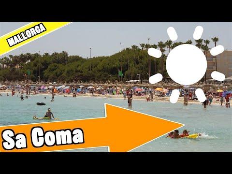 Sa Coma Mallorca Spain: Tour of beach and resort