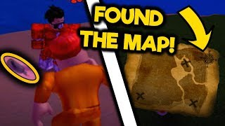 FINDING THE SECRET TREASURE MAP IN MAD CITY! Roblox Mad City Pirate Update Tutorial