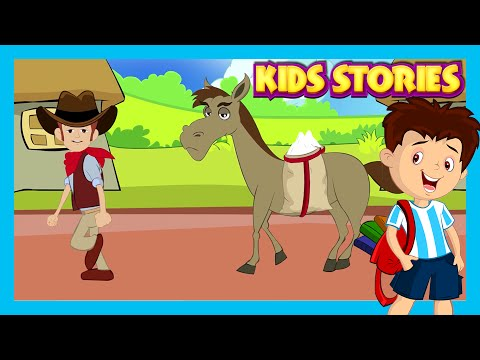 Kids Stories - English Story Collection | The Lazy Horse, The Clever Monkey and The Christmas Story