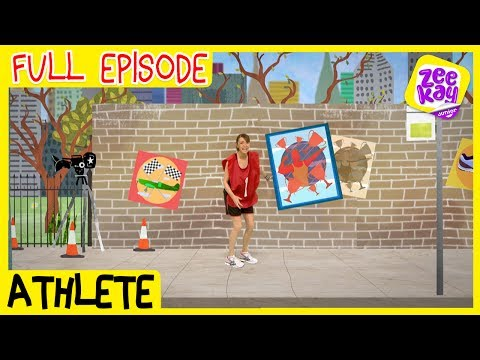 Let's Play: Athlete | FULL EPISODE | ZeeKay Junior