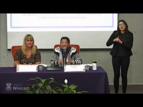 Firma de Convenio CDHCM y la INDDHH del Pueblo de Uruguay