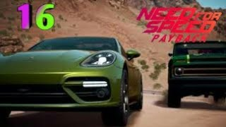 Walkthrough Gameplay - NEED FOR SPEED PAYBACK Part 16 - Holtzman