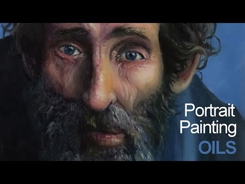 How to Paint a Portrait with Oils on Panel