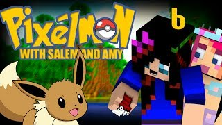 Amy and Salem play PIXELMON! [6] ♥ The Hunt for a mystery, & a name for Rapidash! ♥
