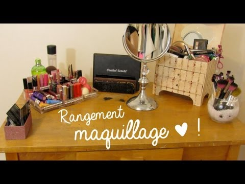 Rangement Et Collection Maquillage Youtube