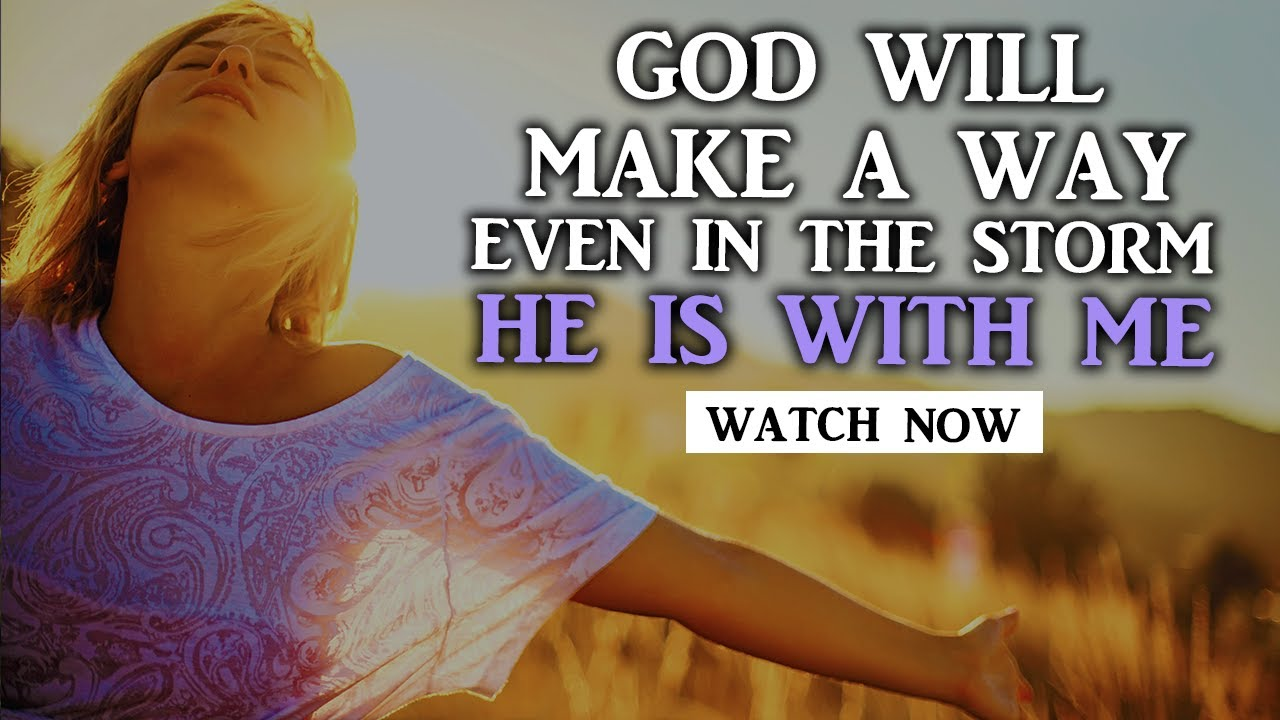 GOD'S PLAN IS BETTER MAKING A WAY FOR ME EVEN IN DIFICULT TIMES -  Christian Motivational Video
