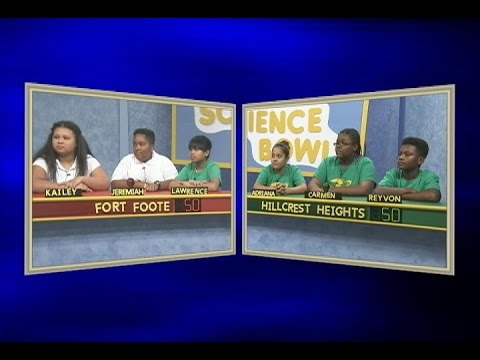 Science Bowl 2015-16: Fort Foote vs Hillcrest Heights