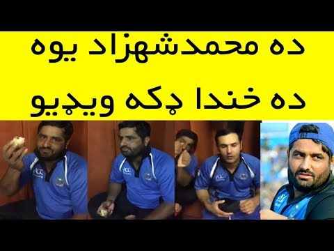Mohammad Shahzad Funny Video   Shahzad Celebrate   Afghan Players Funny Moment