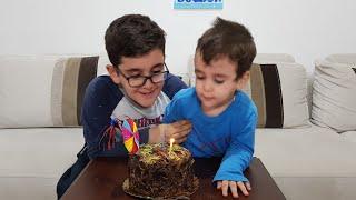 Berat 2 Yaşında. Berat'ın Doğum Gününü Kutladık.