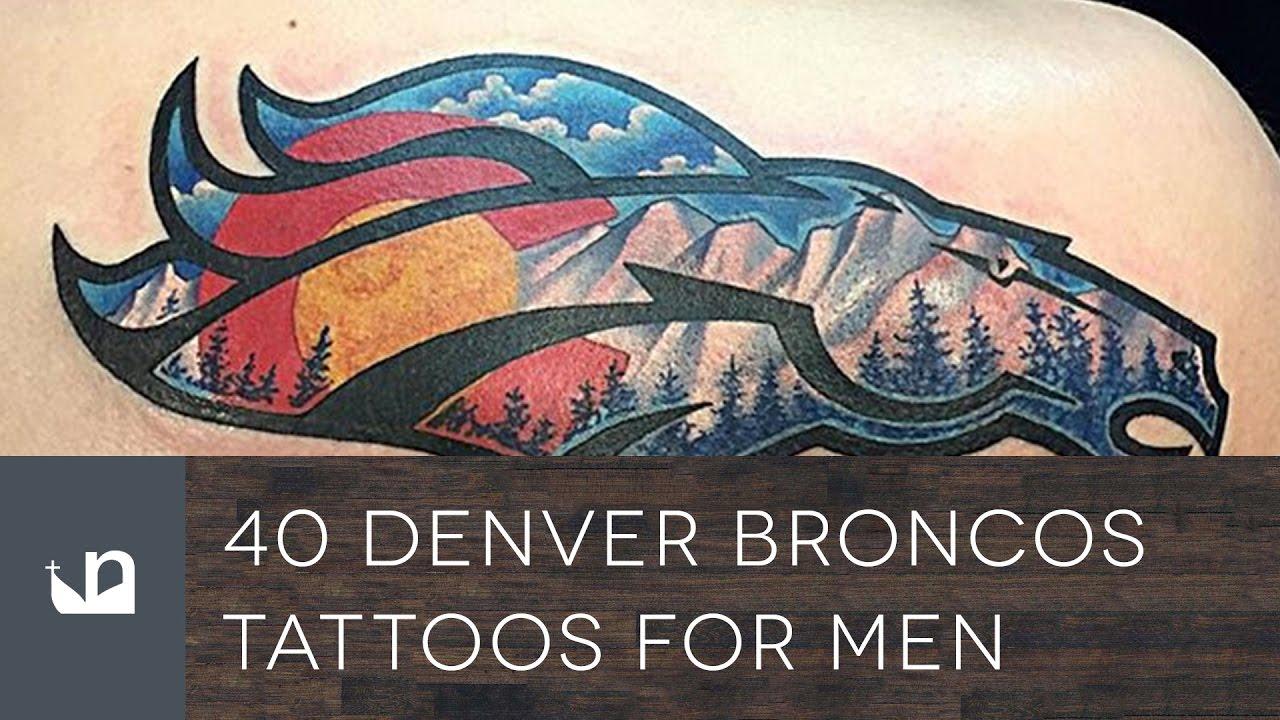Denver Broncos Tattoo Designs Best Tattoo 2017