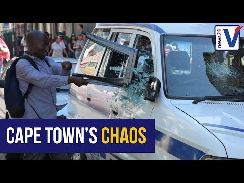 WATCH: Plein chaos outside student apartments in Cape Town
