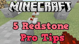 Minecraft Xbox 360 + PS3: 5 Redstone Pro Tips