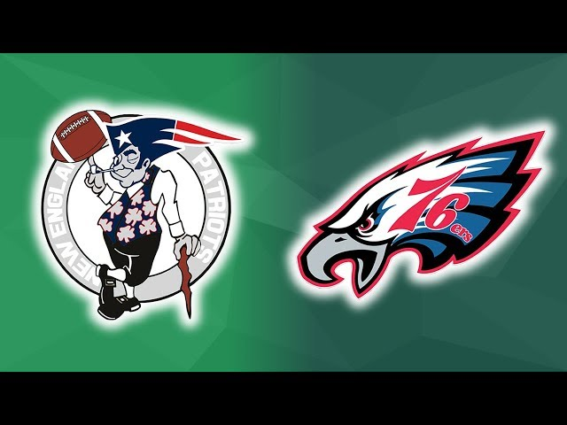 NFL & NBA Team Logos Mashup