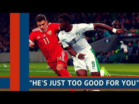 """He's just too good for you"" | Wilfried Zaha Goal Vs Russia"