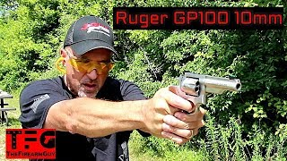 Ruger GP100 10mm Range Review - TheFireArmGuy