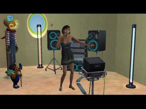 sims2 KARAOKE teen_solo selection