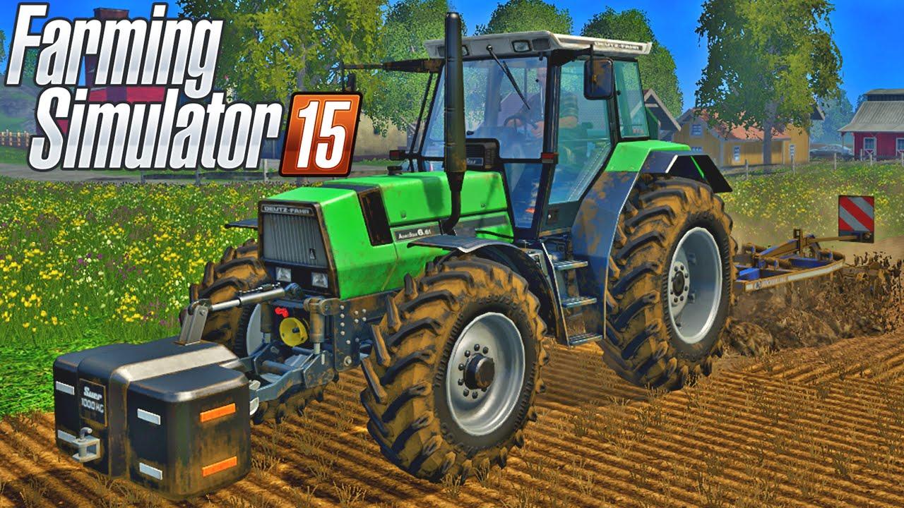 farming simulator 15 gameplay youtube. Black Bedroom Furniture Sets. Home Design Ideas