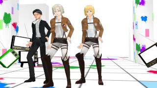 [MMD] Drop It! Attack on titan