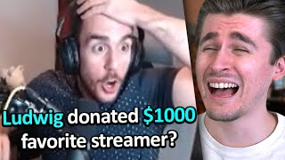 Donating to small streamers if they answer right.