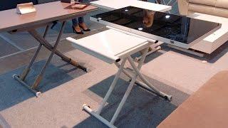 Мебель: столы трансформеры.  Меблі: столи- трансформери(, 2016-11-25T13:25:00.000Z)