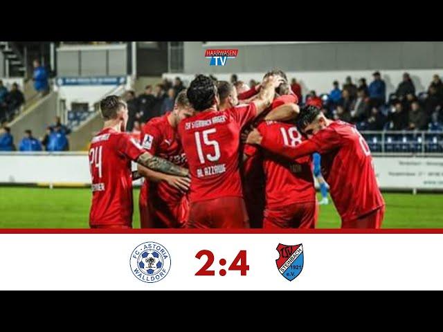 FC Astoria Walldorf - TSV Steinbach Haiger 2:4 (Regionalliga Südwest 2019/20 I #FCATSV )