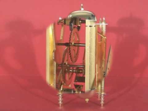 Hermle 22799-000701 Skeleton Mantel Clock