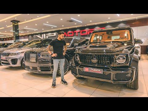 BIGGEST LUXURY CAR SHOWROOM TOUR IN DUBAI 🇦🇪🤑 VIP MOTORS DUBAI TOUR!