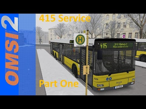 OMSI 2 - 415 Service Part 1 (NavZ Network)
