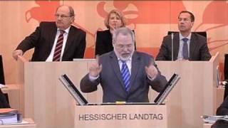 """Hermann Schaus (Linke): """"Sie sollten sich entschuldigen"""""""