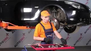 Hvordan bytte fremre stabilisatorkobling på BMW 5 E60 [BRUKSANVISNING]