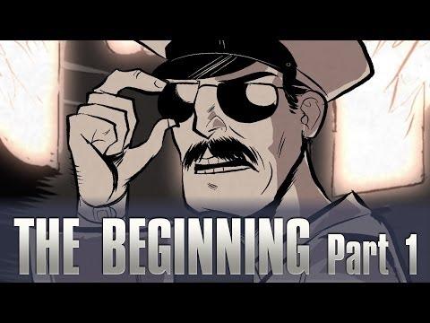AXE COP - The Beginning Marathon Part 1