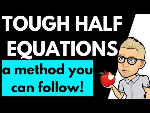 A2 5.2.3 - Balancing half equations / using WHEB and WHEBD / OCR Chemistry A level