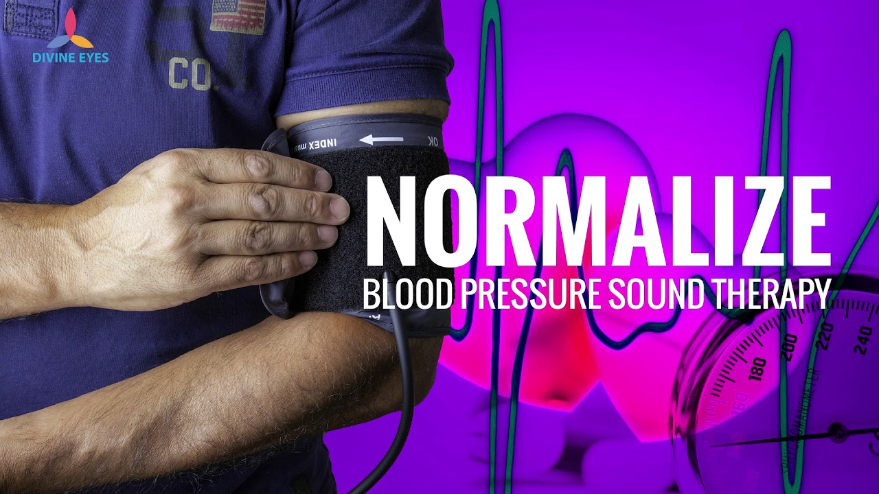 Normalize Blood Pressure Binaural Beats Meditation Reduce Hypertension Strengthen Blood Circulation Youtube