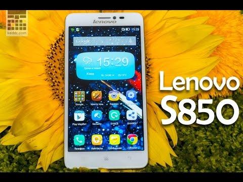 Lenovo S850: обзор смартфона с 5 Мп камерой и 5 дисплей от сайта Keddr.com