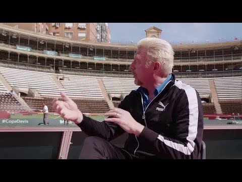 In conversation with Boris Becker