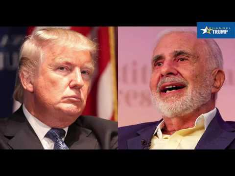 Trump adviser Carl Icahn is advising government to cut the regulations that hurt his own companies
