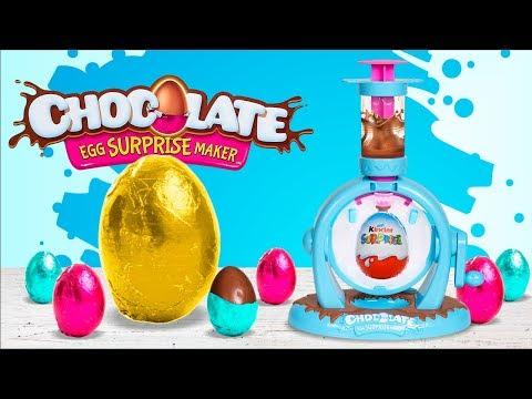 Super Slime Sam Hace Huevos De Chocolate Con Sorpresa