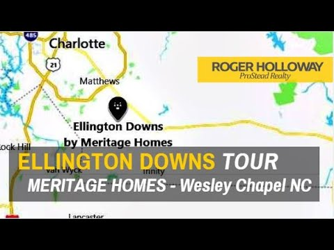 Ellington Downs Homes for Sale in Wesley Chapel NC 28110