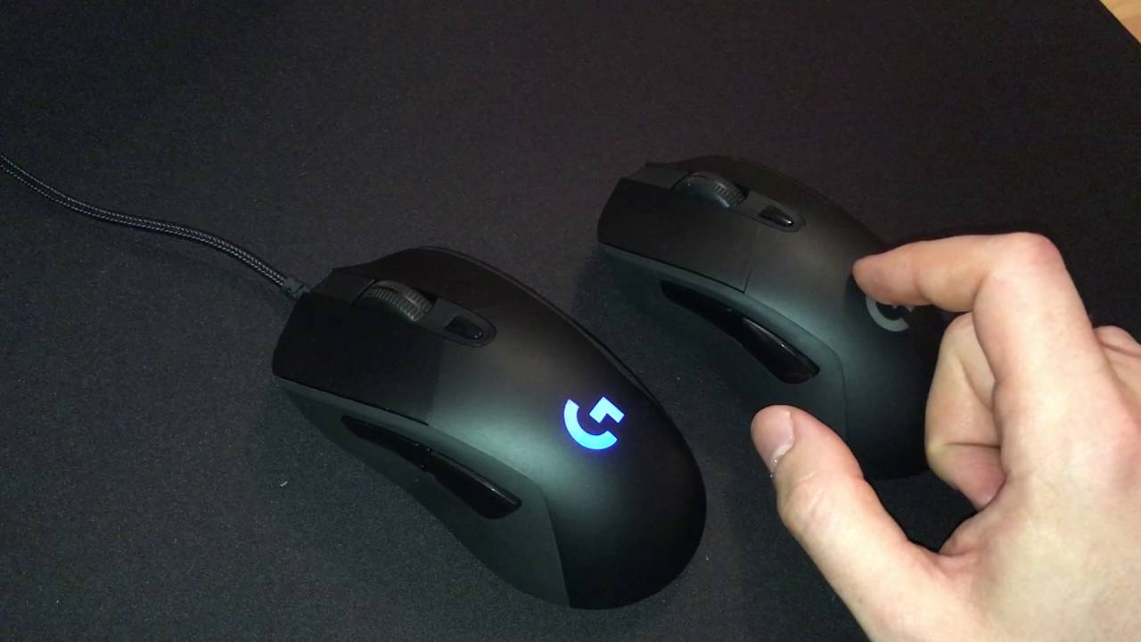 Logitech G403 wired/wireless quick review