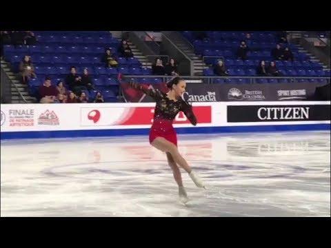 Alina Zagitova GP Final 2018 FS Practice Today!