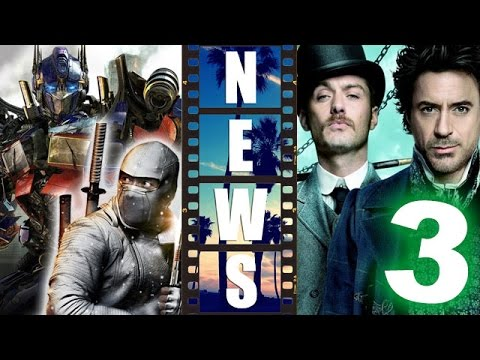 Hasbro Cinematic Universe Writers, Sherlock Holmes 3 with Robert ...