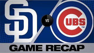Rizzo, Baez lift Cubs past Padres | Padres-Cubs Game Highlights 7/20/19