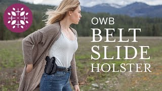 OWB Concealed Carry Holster by Tactica Defense Fashion